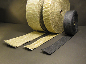Vermiculite Heat Wrap Tape